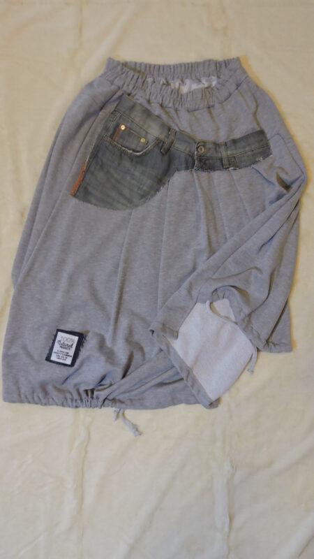 Suknja - sivo